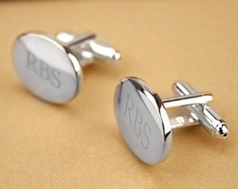 Windsor Silver Cuff Links - Makes the perfect Groomsmen Gifts