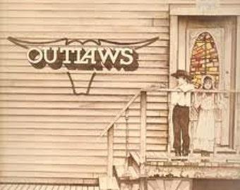 "The Outlaws ""Outlaws"" vinyl record vintage record album lp"