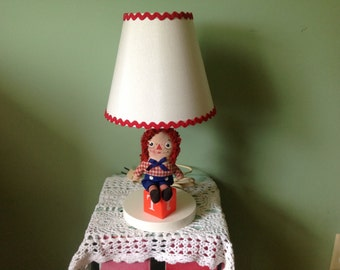 Raggedy Andy Vintage Lamp