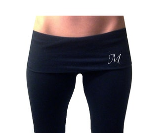 Personalized Mrs. Last Name Yoga Pants . Custom by TheComfortBride