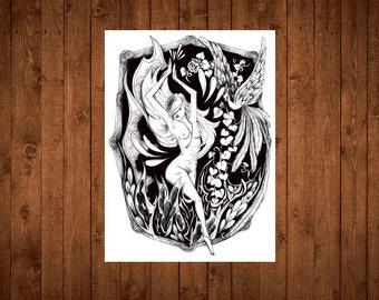 Limited Edition Print - 'Inner Goddess lll'