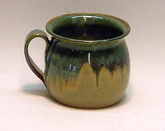 Soup Bowl - Pine Green /  Soup Bowl , Pottery Bowl , Pottery Mug , Ceramic Mug , Ceramic Bowl , Handmade Bowls , Chili Bowl , Chili Mug ,