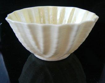 Belleek Sugar Bowl  Unique vintage, antique