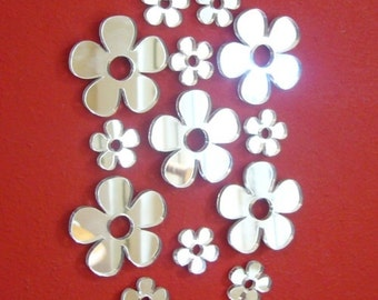 Daisy Mirrors Bundle Pack of 10 x 3cm