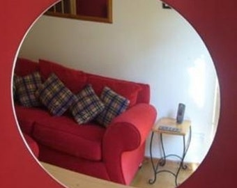 Circle Shaped Mirrors - Various Sizes & Bespoke Sizes Made