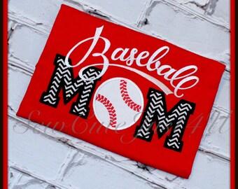Baseball Mom Personalized Tee