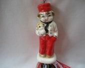 Valentine Ornament Vintage Delivery Boy Bellhop Lobby Boy  Japan