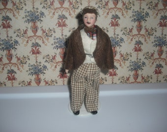 1:12 scale Dollhouse Miniature Father doll