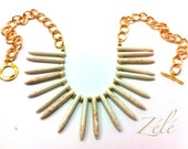Ivory Howlite Necklace