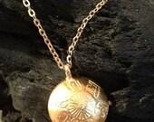 Antique Gold Amulet Pendant