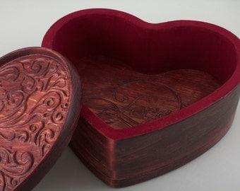 Valentine's Heart Shaped Box