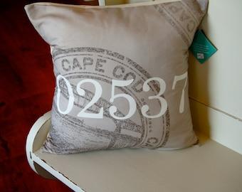 Zip Code Pillow