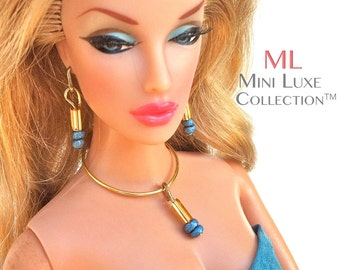 Barbie Jewelry | Fashion Royalty dolls | Barbie Dolls | Fashion Doll Jewelry | Silkstone Barbie | Poppy Parker | Barbie Necklace Set