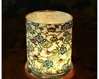 Luminary, Petite Flowering Vines, Japanese Katazome-shi Paper