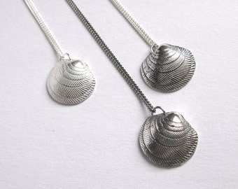Shell Pendant in sterling silver