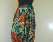 patchwork Harem pants / jumper