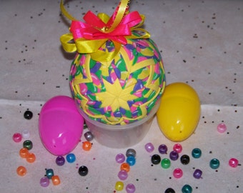 Easter Quilted Ornament