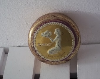 Tjoklat Camee Pastilles,Dutch Vintage Tin