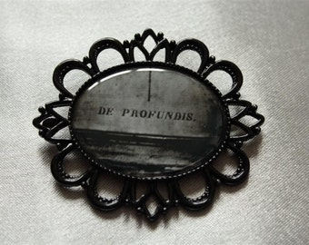 "Brooch ""Black"" collection: DE PROFUNDIS"