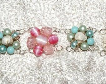 Vintage Flowers Bracelet