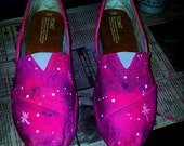 Galaxy TOMS and VANS handpainted by me