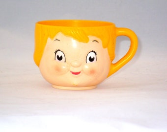1970's Campbell's Kids Soup Cup, Melamie