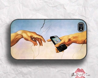"Michelangelo painting ""Creation of Adam""  - iPhone 4/4S 5/5S/5C/6/6+ and now iPhone 7 cases!! And Samsung Galaxy S3/S4/S5/S6/S7"