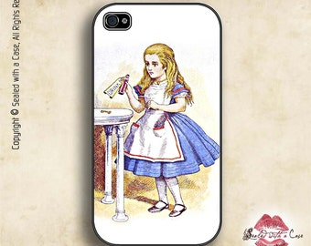 Alice in Wonderland - Drink Me - iPhone 4/4S 5/5S/5C/6/6+ and now iPhone 7 cases!! And Samsung Galaxy S3/S4/S5/S6/S7
