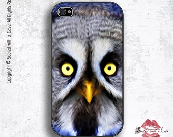 Great Grey Owl - iPhone 4/4S 5/5S/5C/6/6+ and now iPhone 7 cases!! And Samsung Galaxy S3/S4/S5/S6/S7