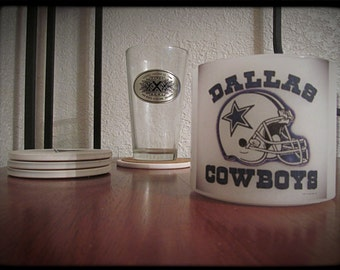 Dallas Cowboys Wax Hurricane Candle