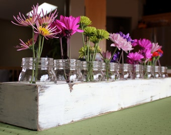 """Wood Table Centerpiece or Window Box, 36"""" long"""