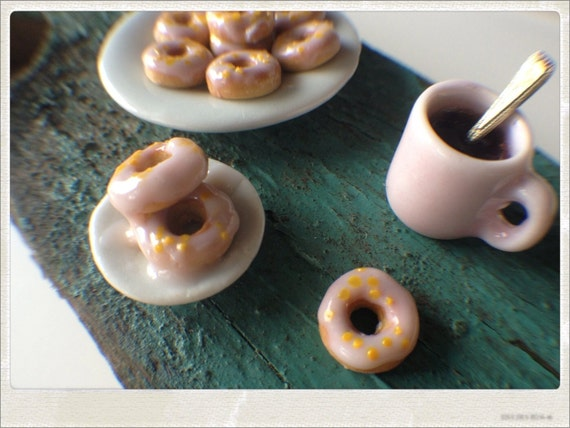 Dollhouse Donuts and Coffee