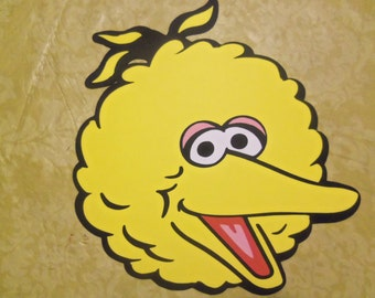 Large Big Bird Die Cut - Birthday- Party-Baby Shower