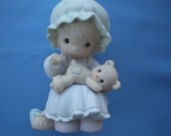 """Precious Moments """"You Are A Blessing To Me"""" 1990 MEMBERS ONLY piece"""