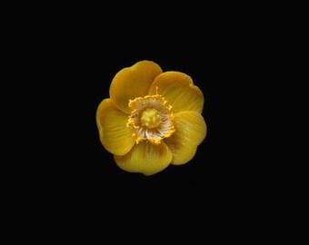 Buttercup Pin Brooch
