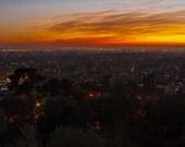 Barcelona fine art prints - Wall-Art - Barcelona at Sunset. Limited Edition landscape photography.