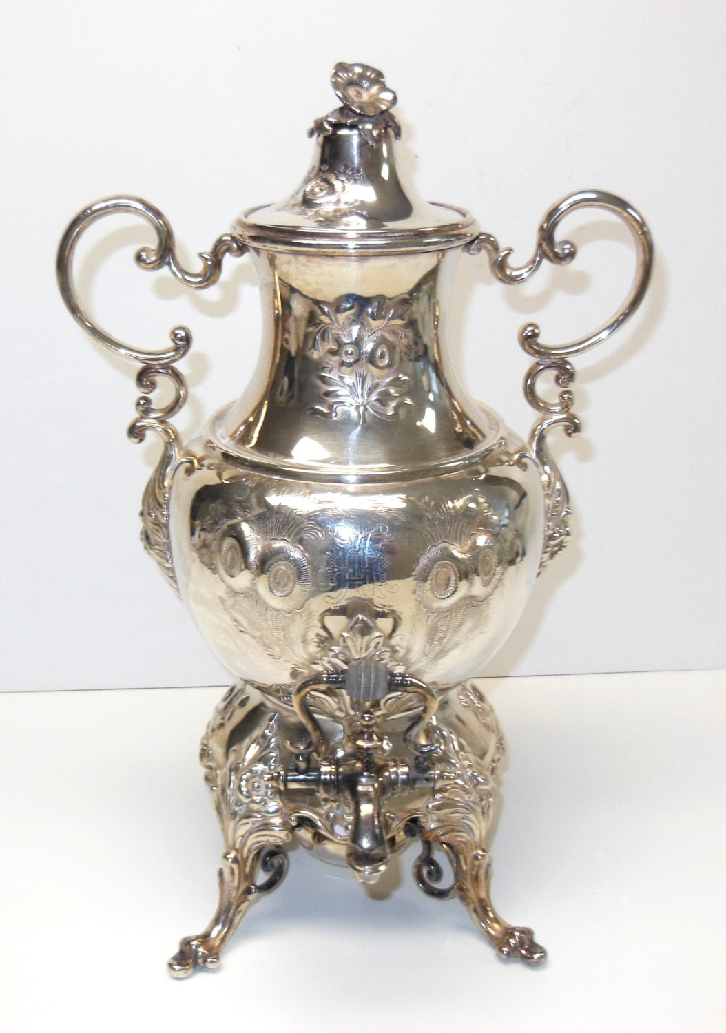On Sale Antique Victorian Coffee Urn Silver By