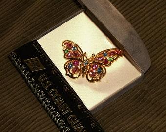 Vintage Nolan Miller Butterfly brooch