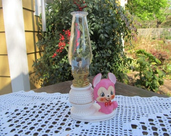 Miniature Hurricane Oil Lamp Light - Mouse