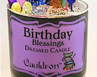 Birthday Blessing Candle - With Surprise Hidden Charm