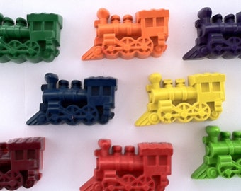 Krazee Krayons - 5 Jumbo Choo Choo Train crayons