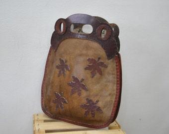 Vintage Handmade Leather Handbag.....(164)