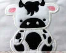 Bull Applique(INSTANT DOWNLOAD)