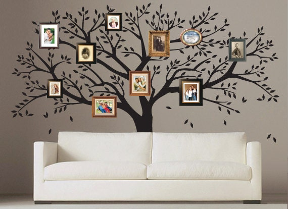 Photo Frame Family Tree Decal Wall Decals Wall Decor: Unavailable Listing On Etsy