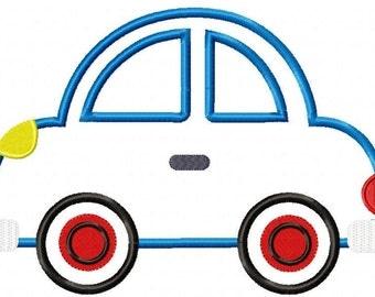 Car Machine Embroidery Design