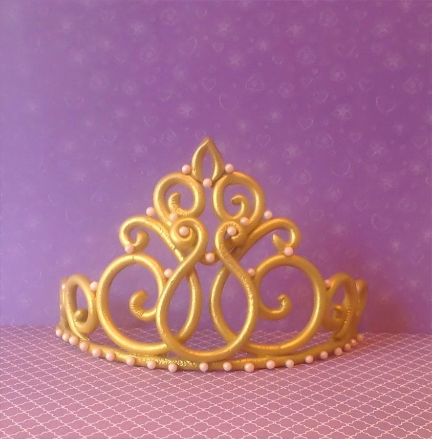 Princess crown tiara cake topper tiara topper by ...