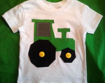 Tractor T-shirt - Baby Tractor Tshirt - Toddler Tractor Tshirt - Baby Tractor - Tractor Tee - Tractor