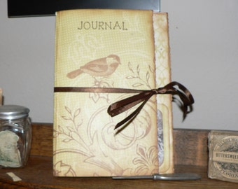 Bird Journal, Gift Journal, Mini Journal, Journal with Quotes, Journal