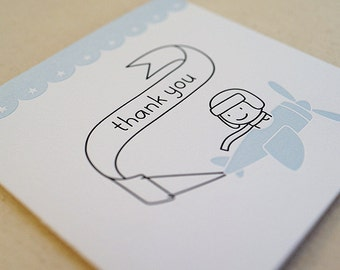Thank You / Letterpress Card