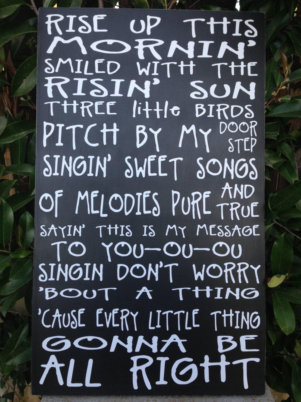 Three little birds song download